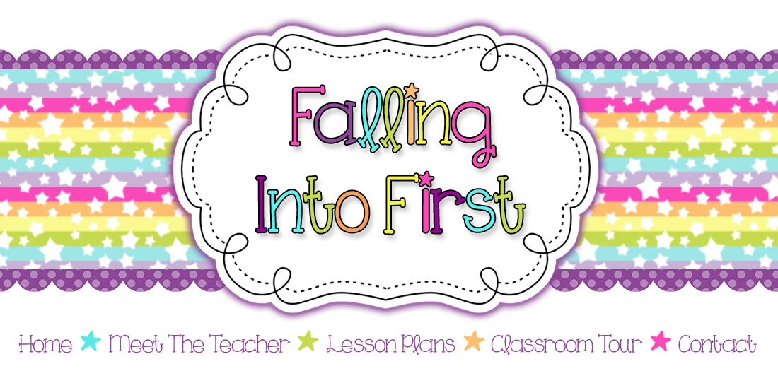 Falling Into First: Bathroom Pass Freebie & Linking Cube