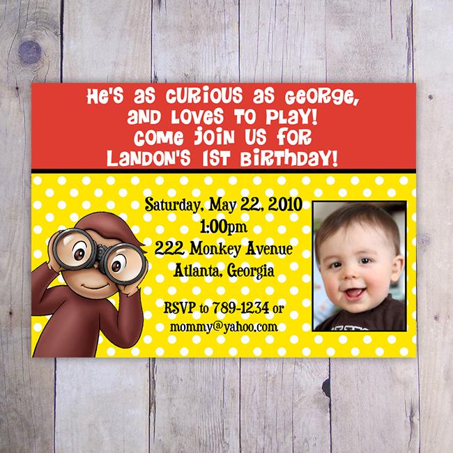curious george birthday party ideas MEMEs